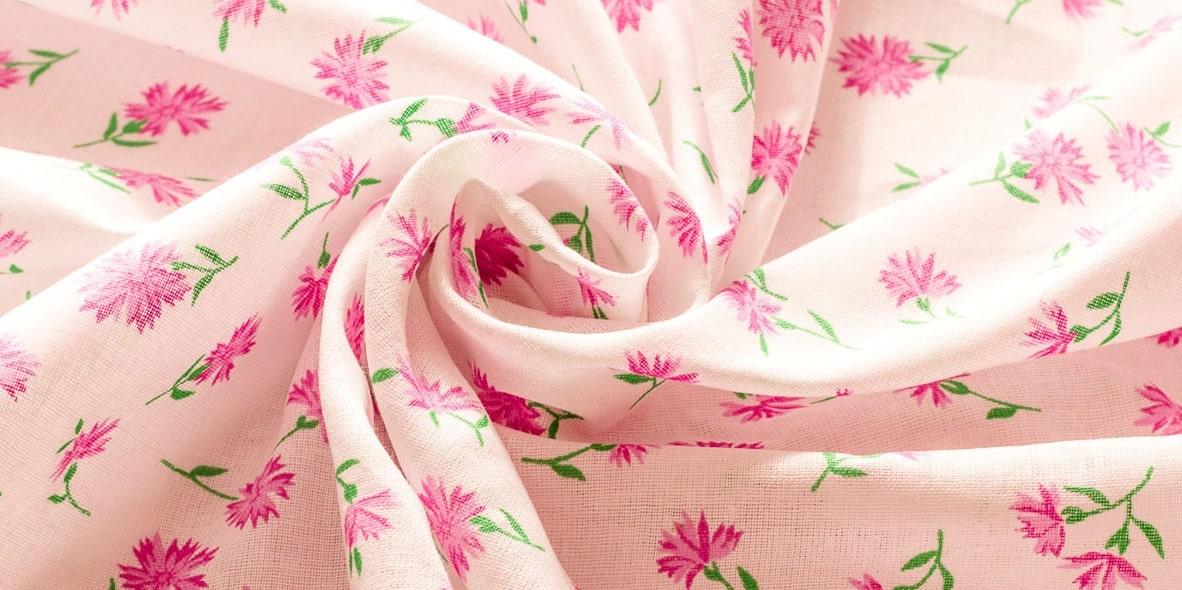 Ткань ситец - внешний вид