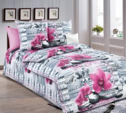 Купить Постельное белье из бязи «Орхидея» (1.5 спальное)