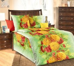 Купить Постельное белье из бязи «Осенний букет» (1.5 спальное)