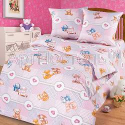 """Купить детское постельное белье из бязи """"Пуговка"""""""
