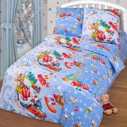 """Купить детское постельное белье из бязи """"Чудеса на виражах"""""""
