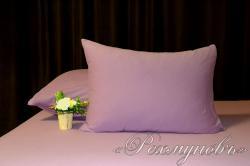 Купить лиловые трикотажные наволочки на молнии в Рязани