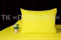 Купить желтые махровые наволочки на молнии в Рязани