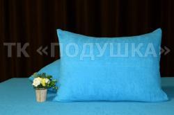 Купить голубые махровые наволочки на молнии в Рязани