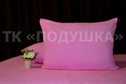 Купить розовые махровые наволочки на молнии в Рязани