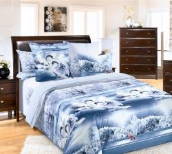 Купить постельное белье из бязи «Лебединое озеро» в Рязани