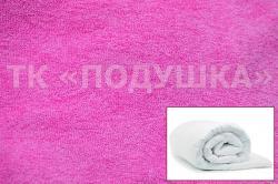 Купить розовый махровый пододеяльник  ТМ Подушка в Рязани