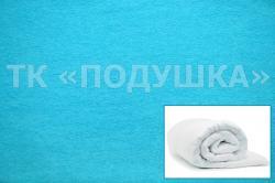 Купить бирюзовый махровый пододеяльник  в Рязани