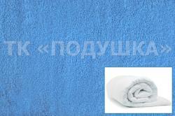 Купить голубой махровый пододеяльник  в Рязани