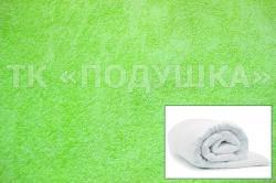 Купить салатовый махровый пододеяльник  в Рязани