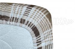 Поплиновая простынь на резинке «Ода»