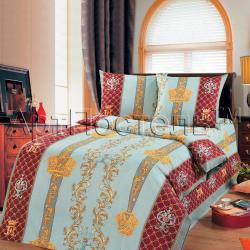"""Постельное белье из бязи """"Королевская постель"""" 1.5 спальный"""